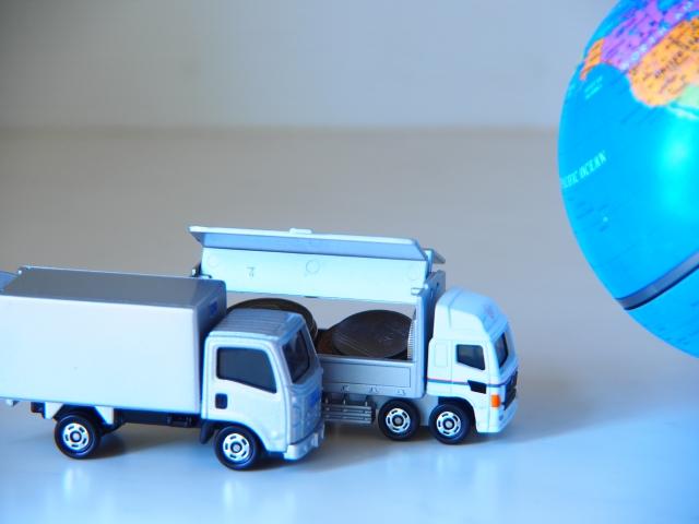 トラックと地球