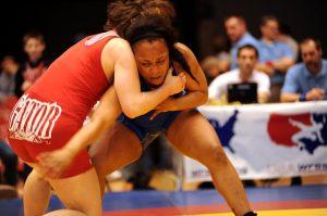 女子レスリング